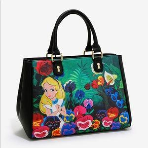 Alice in wonderland handbag